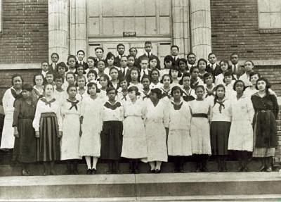 Sumner graduates, 1921
