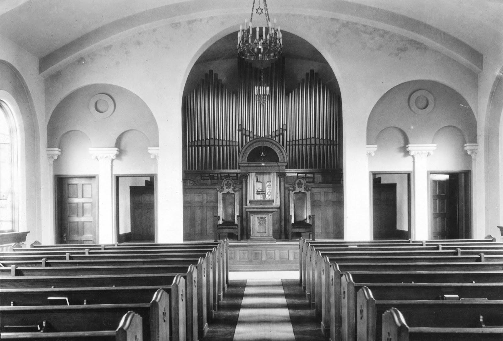 Interior of the Temple (image from the University of Kentucky Library)
