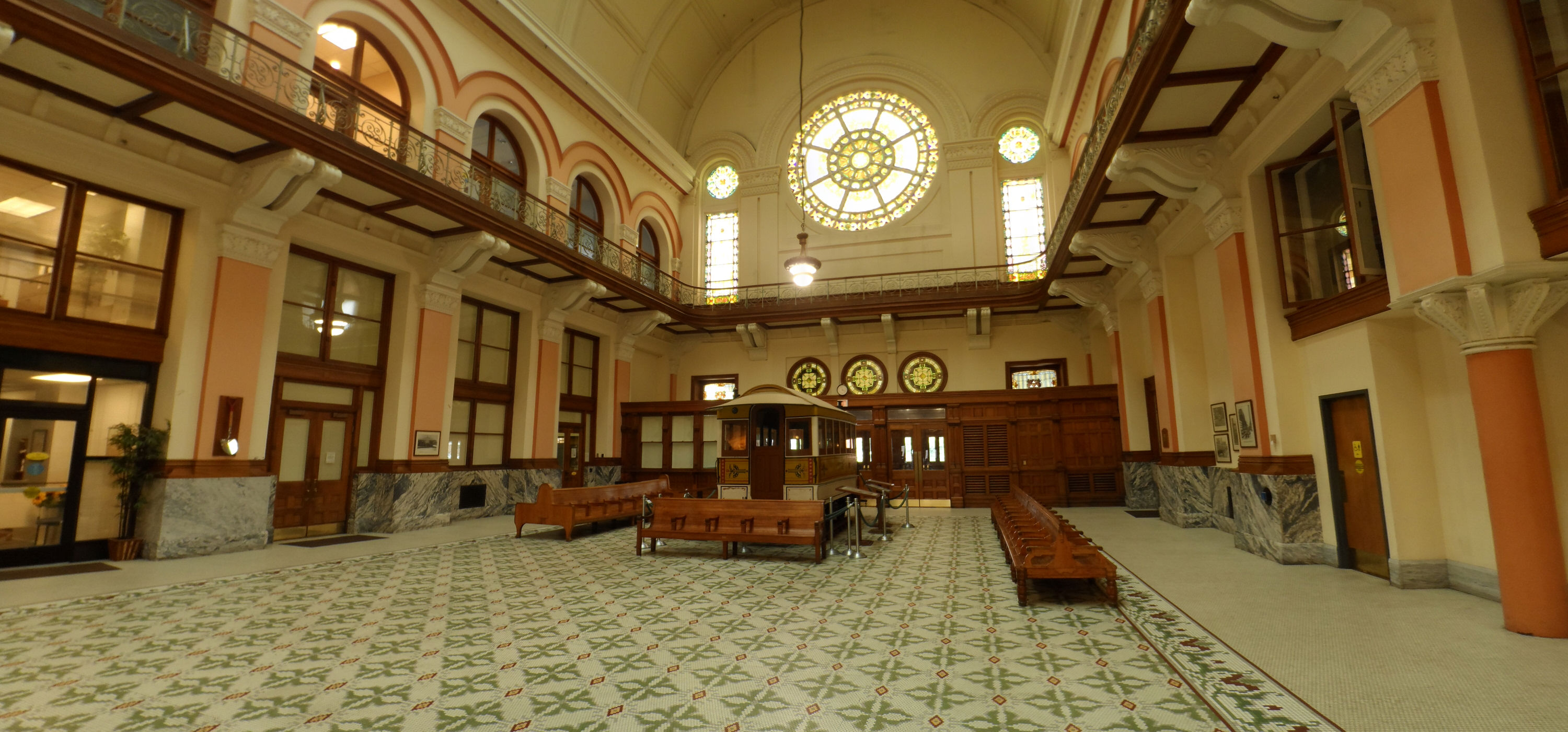 Restored interior of Union Station, now TARC headquarters (image from Mapio)
