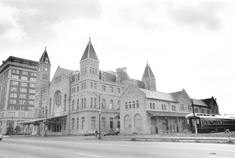 Union Station, 1973 (image from the National Register of Historic Places)