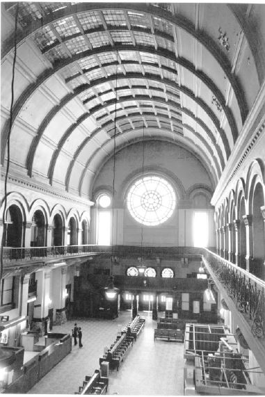 Union Station interior, 1973 (image from the National Register of Historic Places)