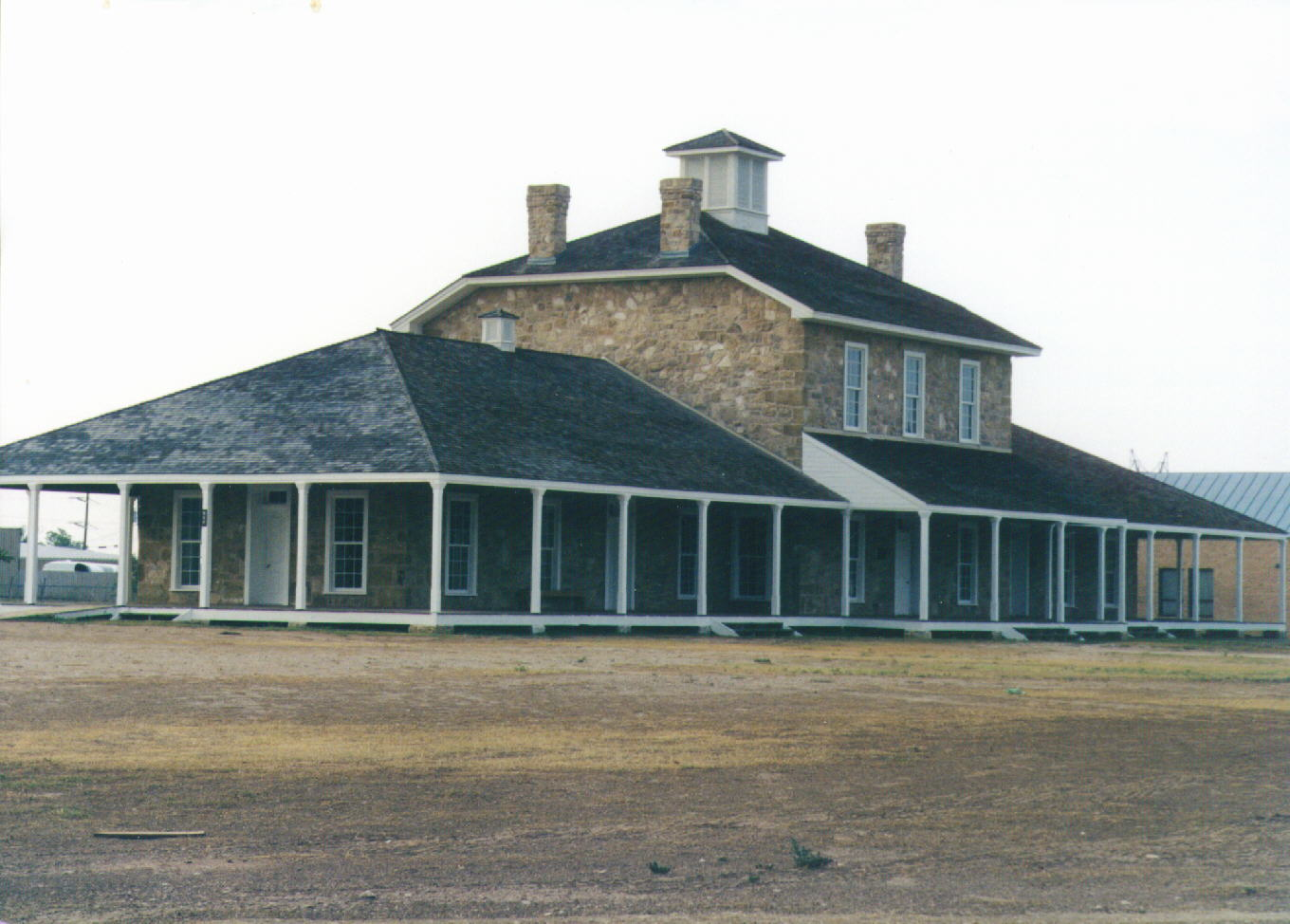 Reconstructed Hospital Building
