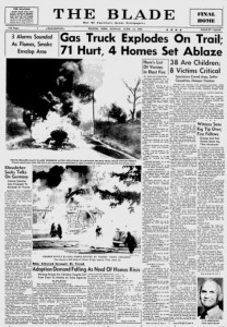 Anthony Wayne Trail Fire Article