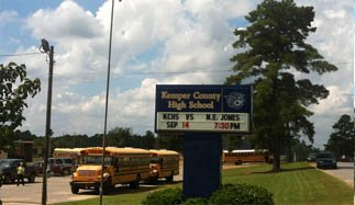 Dekalb High School is now known as Kemper County High School