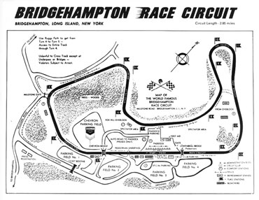Bridgehampton Track Layout