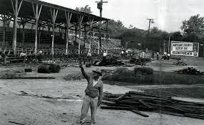 Demolition of Bugle Field