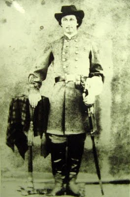Captain Hurston Spurlock of Company E of the 16th Virginia Calvary Regiment.