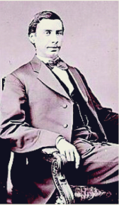 Captain John S. Witcher of Company G of the 3rd West Virginia Calvary Regiment.