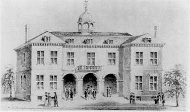 "City Hall, site of the ""Negro Plot"" trials of 1741."