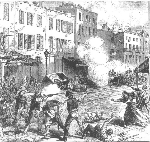 Depiction of the Slave Insurrection of 1741