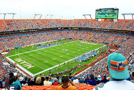 Miami Dolphins game in Sun Life Stadium