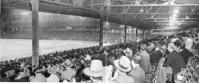 Wrigley Field, 1944.