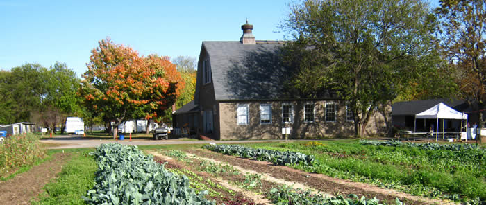 Queens County Farm Museum dates back to 1697 and is presently operated by the Colonial Farmhouse Restoration Society of Bellerose