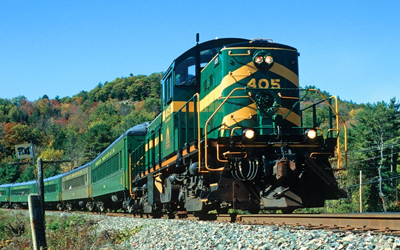 Modern day Rutland train