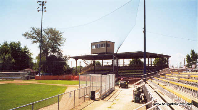 Stands at Simmons Field [5]