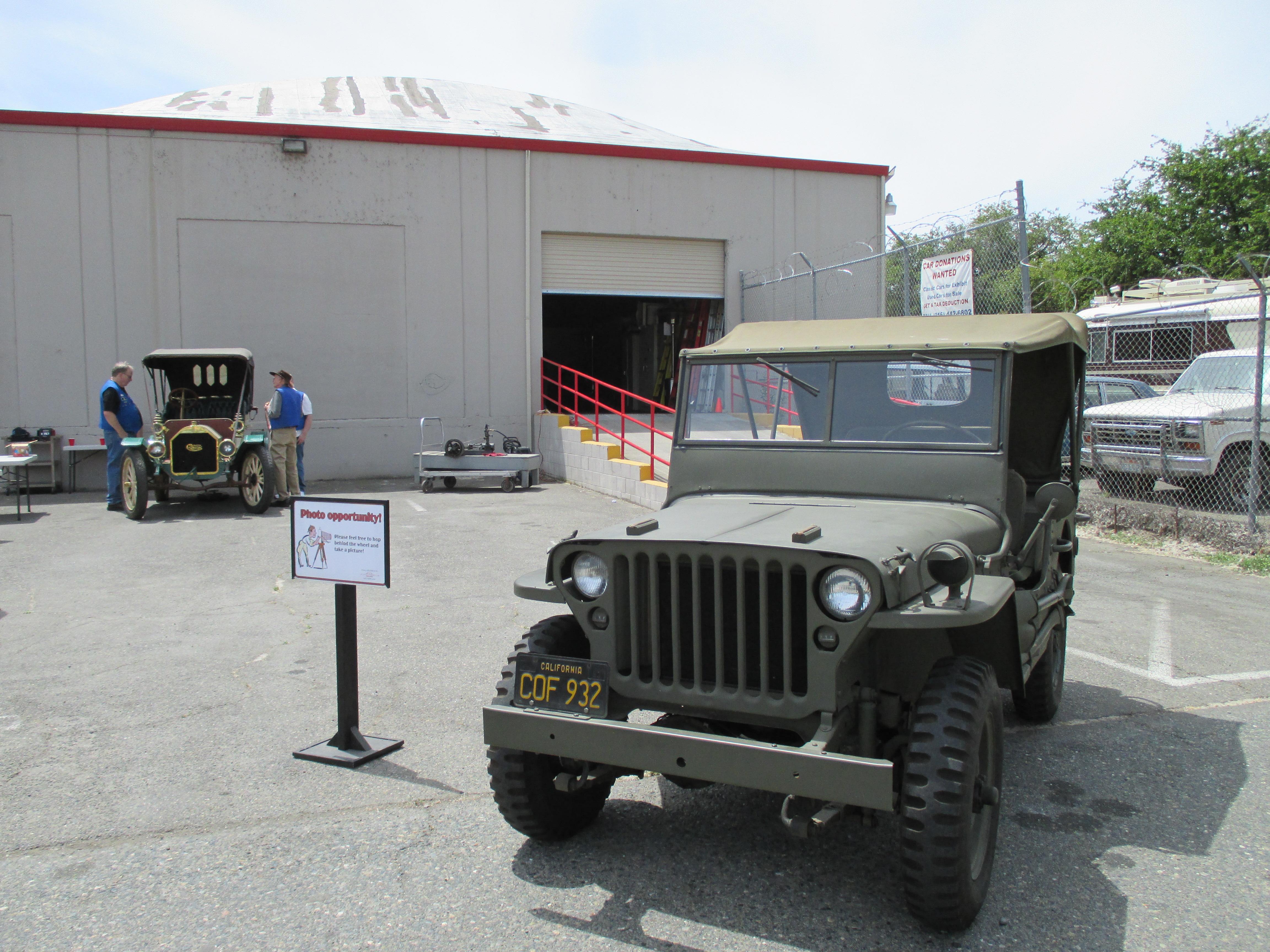 California Automobile Museum's Exhibit on the Go