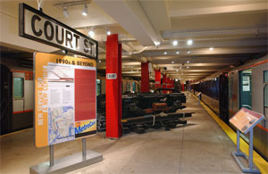 The museum is located in a subway station created in 1936.