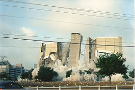 Tampa Stadium demolition