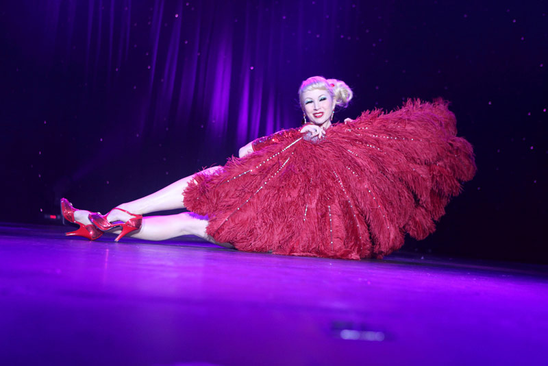 There are frequent Burlesque shows that help to explain the idea and artistry behind the movement.