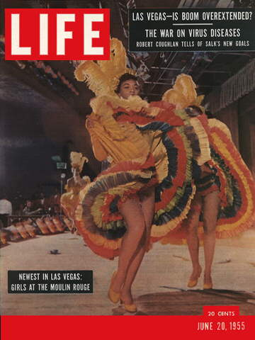 Magazine detailing the importance of the Moulin Rouge to the Civil Rights Movement and the entertainment industry.
