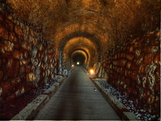 Inside the Historic 1850  Western and Atlantic Railroad Tunnel