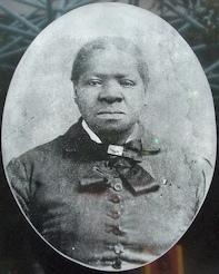 A photograph of Biddy Mason.