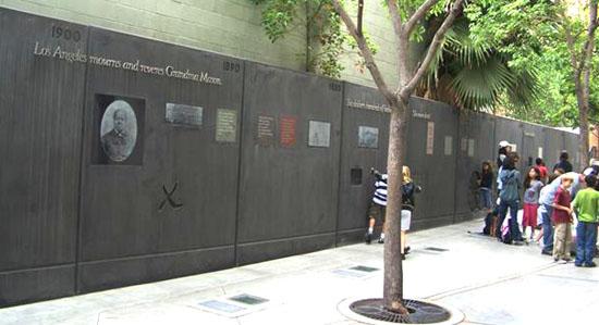 The Biddy Mason Timeline Wall