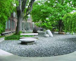 The open-air gallery is located just across the street from one of Noguchi's early studios.