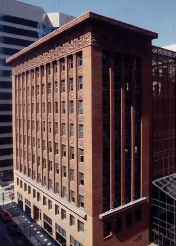 The Wainwright Building, seen from the side