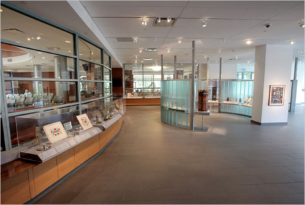 Derfner Judaica Museum is located within the Hebrew Home for the Aged at Riverdale.