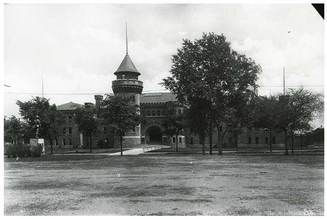 The Armory as it looked around 1920