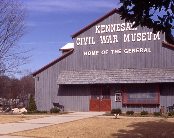 Southern Museum of Civil War and Locomotive History: The Old Museum