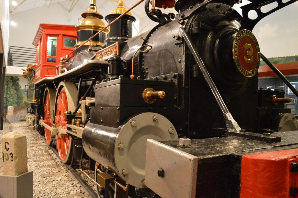 Southern Museum of Civil War and Locomotive History's Exhibit