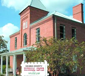 Heard County Jail, Heard County Historical Center & Museum