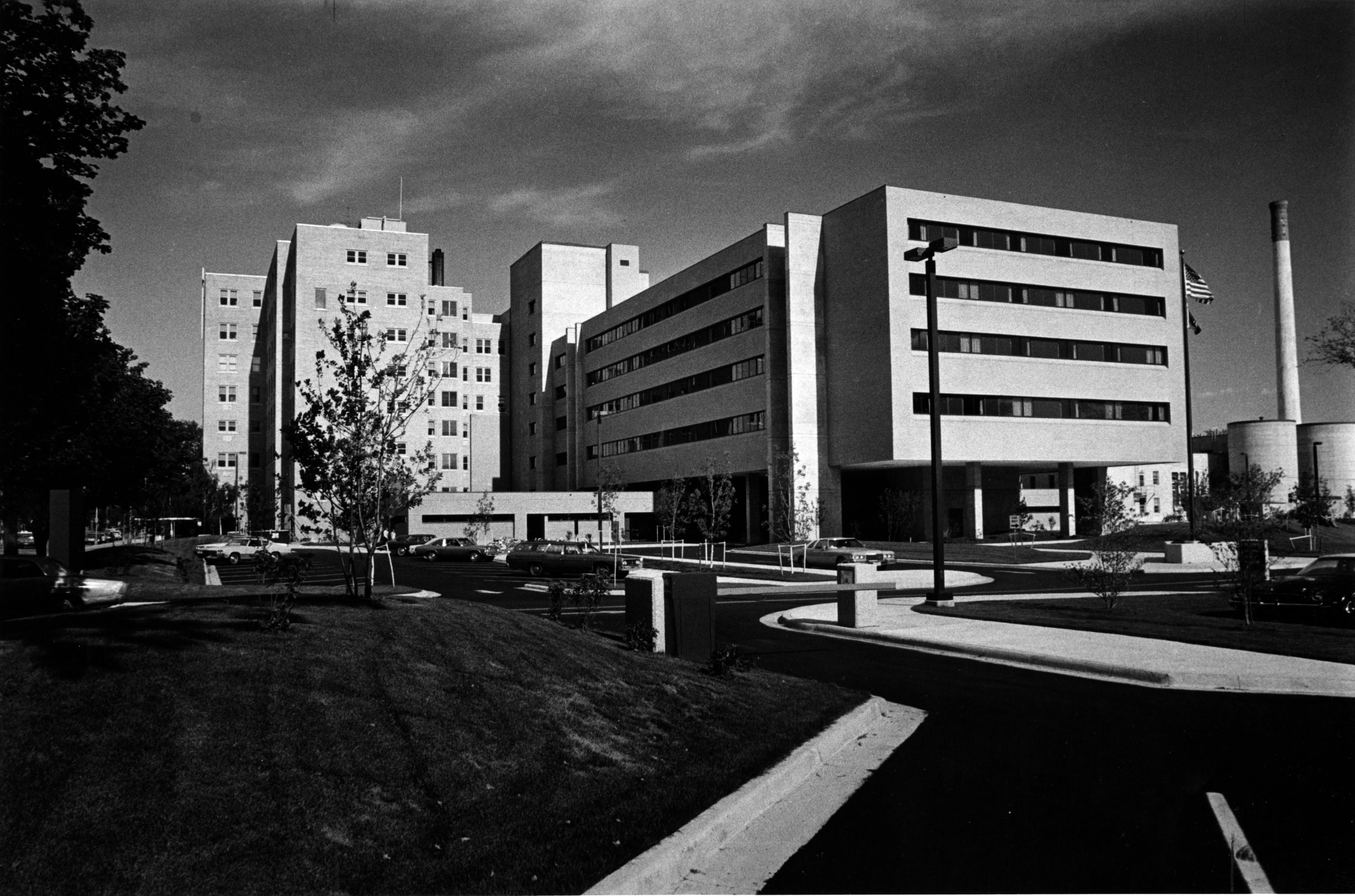 St. Agnes Hospital after 1974 expansion.