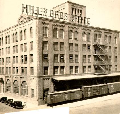 Hills Bros. Coffee Plant 1940