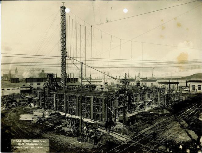 Hills Bros. Building, San Francisco, Dec. 15, 1924