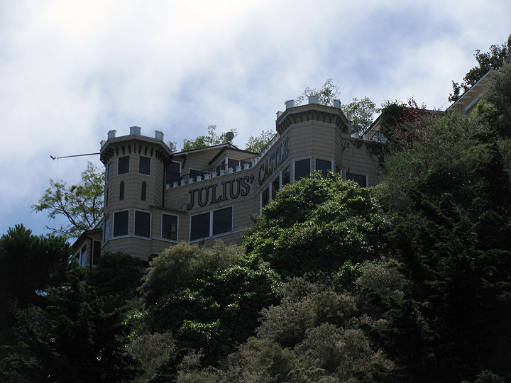 Julius Castle in its current state.