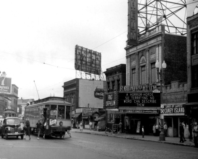 The theater when it was known as the RKO Orpheum