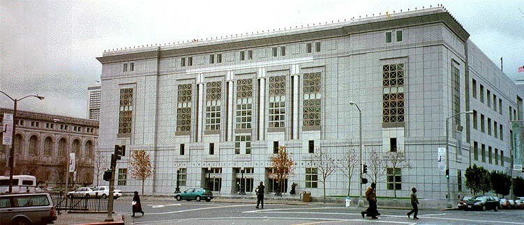 The new main branch of the Public Library opened on April 18, 1996