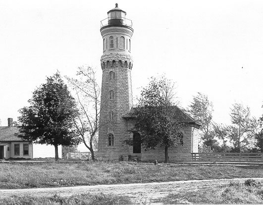 The Fort Niagara Light was built in 1872 and deactivated in 1993.