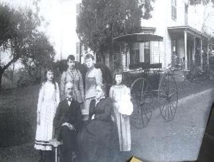The Isham (Terry) family.