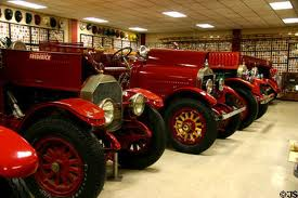 The museum houses a large collection of firetrucks and memorabilia.