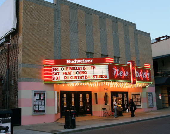 Older street view of the New Daisy Theatre