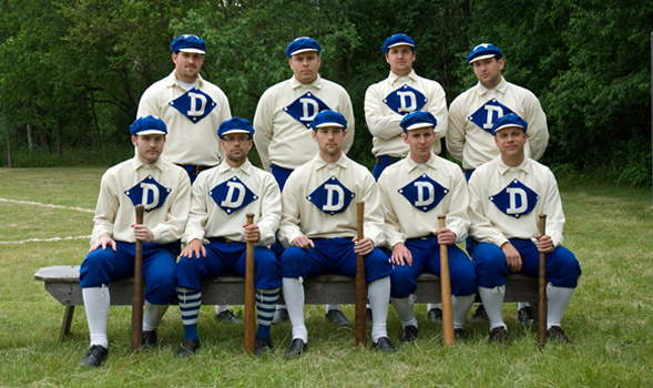 "Members of the ""Eagle Diamonds"" team"