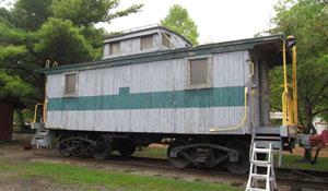 Bellefonte Central Railroad Caboose #103