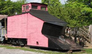 Bellefonte Central Railroad Snow Plow #100