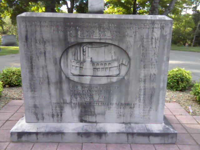 This memorial to the victims was dedicated on July 4th, 1916 in Knoxville's Mount Olive Cemetery.