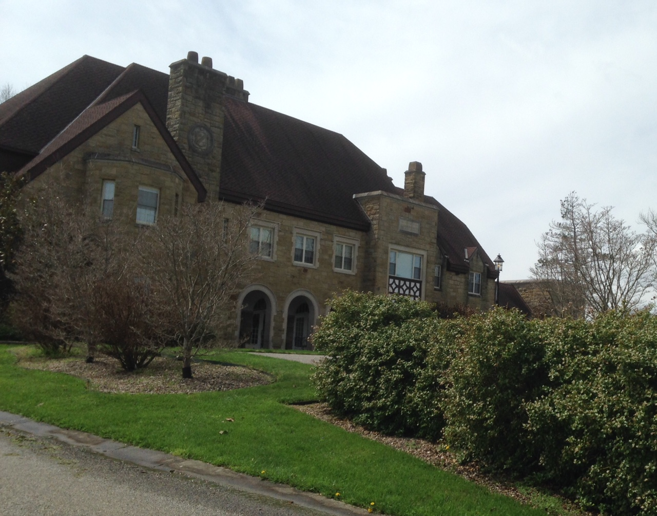 The school is located about three miles north of Ona.