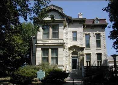 Constructed in 1869, this home was in the Harvey family from 1883 to 1944.